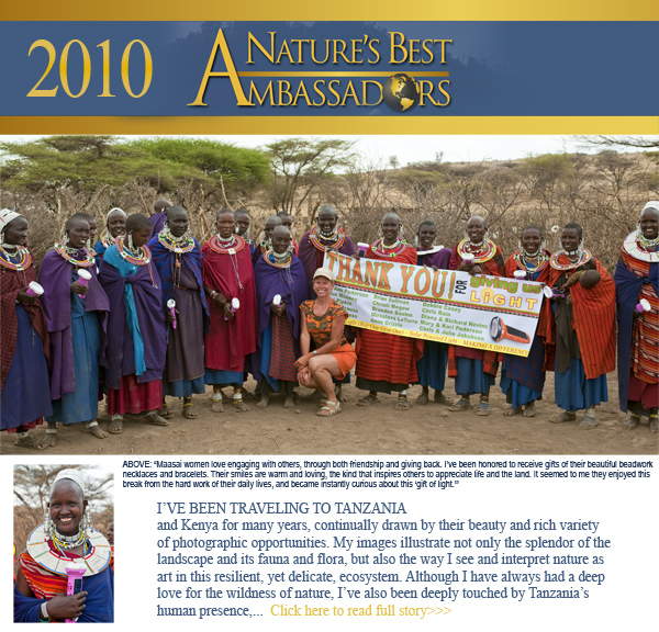 2010 Nature's Best Ambassadors